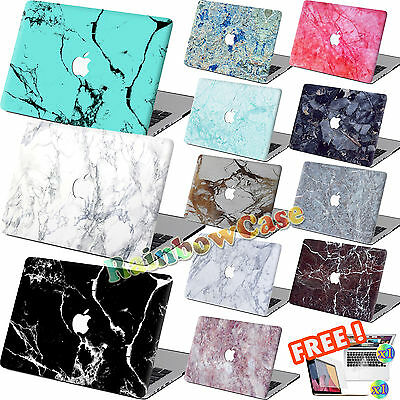 """Marble Painting Hard Case+key Cover+SP For Macbook Pro Air 11 13""""15""""Retina 12"""" P"""