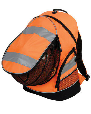 1x Hi-Vis Orange Rucksack/Work Bag Ideal for Paramedic First Responder Ambulance