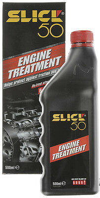 SLICK 50 ENGINE TREATMENT 500ml 750ml PROTECTS YOUR ENGINE FROM HEAT & FRICTION