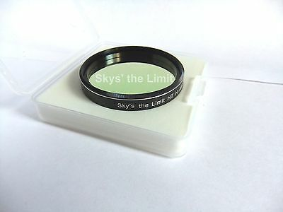 "Sky's the Limit 2"" H-Alpha 12nm Premium High Transmission filter with data"