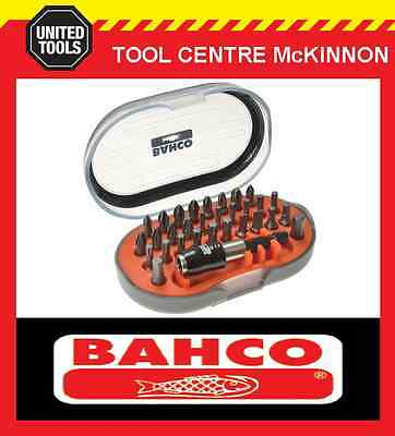 BAHCO 31pce TORSION SCREWDRIVER BIT SET WITH STRONG MAGNETIC HOLDER