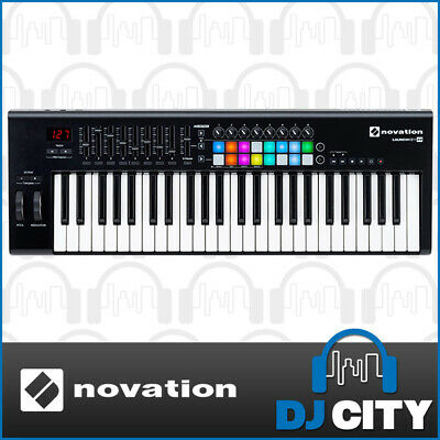 Launchkey 49 mk2 Novation 49 Key MIDI Controller with RGB Pads Studio Production