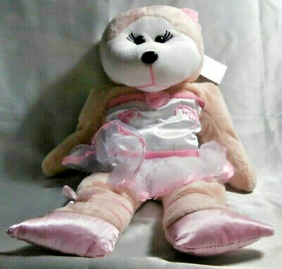"Skansen Cuddly Kid ""giselle"" The Ballerina Bear Mwmt"