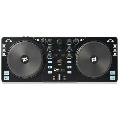 PDC-10 Power Dynamics 2 Channel DJ Controller with MixVibes for Mac or Windows