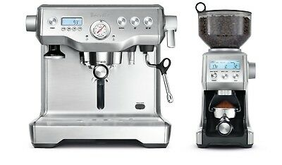 Breville BEP920BSS the Dynamic Duo Dual Boiler + Smart Grinder Pro -RRP $1899.95