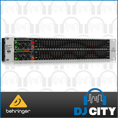 Behringer FBQ3102HD 31-Band Stereo Graphic Equalizer - FBQ Detection + Crossover