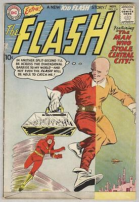 Flash #116 November 1959 VG Ad for JLA #1