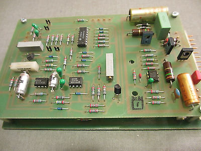 Berger Lahr, D 321 RS, Circuit Board, 22.321-00-02b Ruckseite
