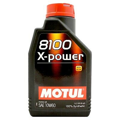 Motul 8100 X-Power 10w-60 High Performance Engine Oil 10w60 - 1 Litre 1L