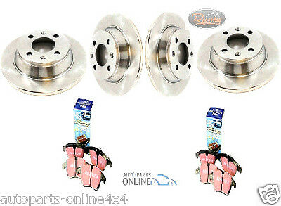 Land Rover Discovery 1 Front & Rear Performance Brake Discs And Ebc Pads Kit