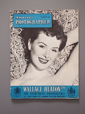 R&L Vintage Mag: Amateur Photographer 24 August 1955 Docks/Exeter/Whipsnade Zoo