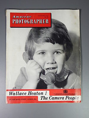 R&L Vintage Mag: Amateur Photographer 4 January 1961 Weather/Photo of Year
