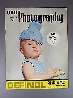 R&L Vintage Mag: Good Photography April 1961 Abstracts/Bert Hardy/Glamour