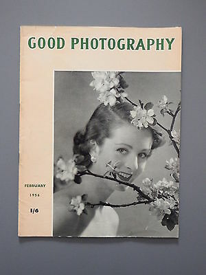 R&L Vintage Mag: Good Photography February 1956 Patterns/Paraphenylene Diamine