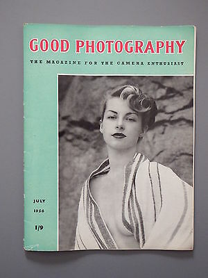 R&L Vintage Mag: Good Photography July 1956 Nude Form/Texture/Bromide Paper