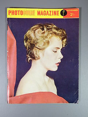 R&L Vintage Mag: Photo Guide Magazine November 1958 Ballet/Children/Insects