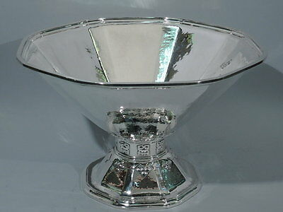 Tiffany Punch Bowl - 19810 - Arts & Crafts - American Sterling Silver - 1920