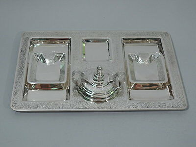 Tiffany Smoking Set - 19048B, 19099C - American Sterling Silver - C 1916