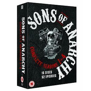 Sons of Anarchy - Series 1-4 - Complete (DVD, 2012, Box Set) New & Sealed