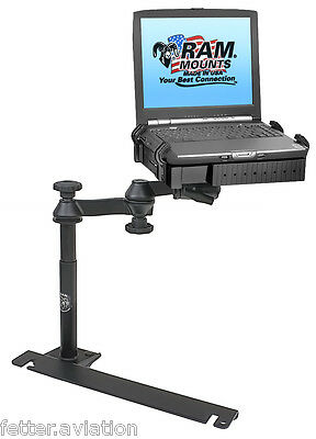 RAM Custom No-Drill Laptop Mount for Dodge Charger, Challenger, Magnum, Others