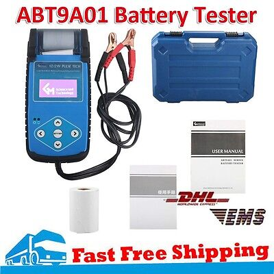 ABT9A01 Automotive Battery Tester with Printer Electric Quantity Tester