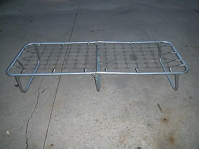 Vintage  Folding Aluminum Cot Lounge Lawn Chair Frame Only