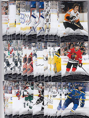 2015-16 UD UPPER DECK OVERTIME BASE LOT CARD You Pick 3 to FINISH YOUR SET 15-16