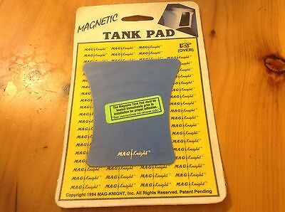 Nos Mag Knight Magnetic Tank Pad Blue- Free Ship Can/usa