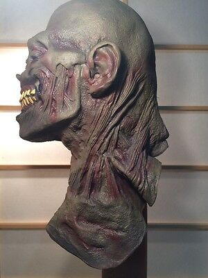 Rotting Zombie EVIL Dead Head Latex Rob 1000 Halloween FULL Mask Walking VINTAGE