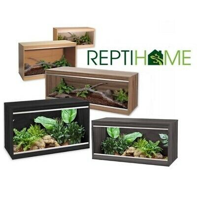 Vivexotic Repti Home - Wooden Vivarium - Snake Lizard Reptile Housing Habitat