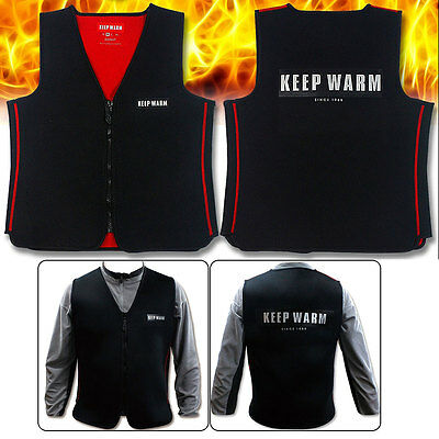 Keep Warm Neoprene Heated Vest No battery heated vest motorcycle heated vest