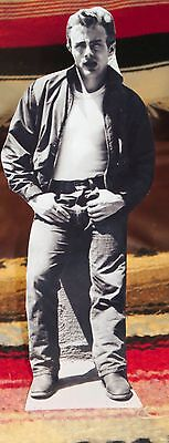 """James Dean """"Giant & Rebel Without a Cause"""" Movie Actor Tabletop Standee 10.5"""" T"""
