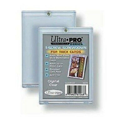100 Ultra Pro 1 Screw Screwdown 100pt For Thick Cards  New Jersey Patch