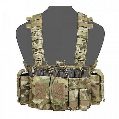 Warrior Assault Systems FALCON Chest Rig FCR - MULTICAM MOLLE Recon