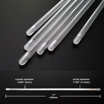 20/100pcs Cattle Cow Artificial Insemination AI Breed Whelp Catheter Rod 17inch