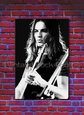 David Gilmour, Pink Floyd Poster Photo 20x30 inch Live 1975 Concert Pro Print 1