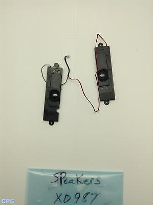 XD987 Dell Precision M4300 Laptop Left and Right Side Speaker Assembly