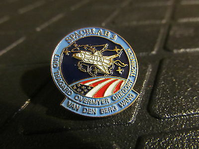 Space Lab 3  Lapel Pin