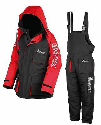 New Imax Thermo Suit 2Pc Sea Fishing 100% Waterproof Large