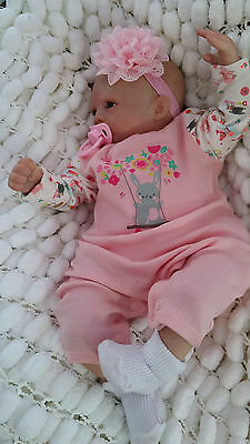 Limited Very Low Stock Rare Soft Silicone Vinyl Sunbeambabies Reborn Baby Girl