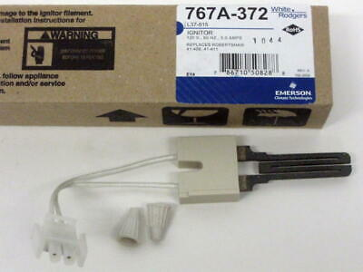 767A-372 White Rodgers Furnace Hot Surface Ignitor for Rheem 62-22868-92 Igniter