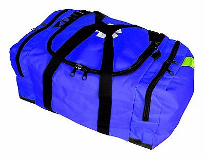 New Blue First Responder Paramedic Trauma Emergency Medical Kit Fully Stocked