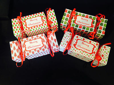 Personalised Christmas / birthday  cracker fill your own gift box