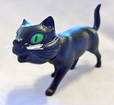 Standing Black Cat Nodder Bobble Head Plastic Germany Breba