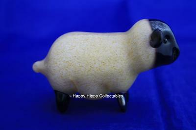 Langham Glass Hand-Made Small Sheep Standing - New / Boxed