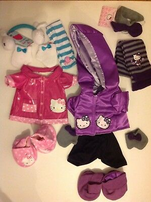 New Hello Kitty Design A Bear 3 Sets Of Clothes For Chad Valley Designabear