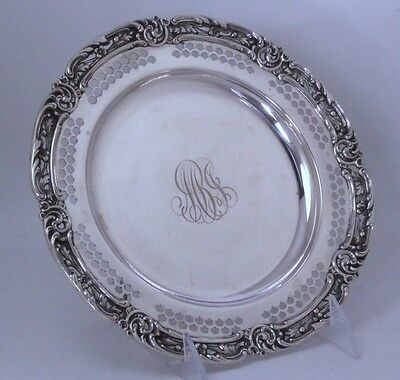 """Sterling Silver Plate by Gorham 8 1/4""""w Heavy"""