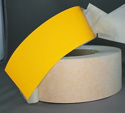 Yellow Class 2 Reflective Tape 50mm x 15m