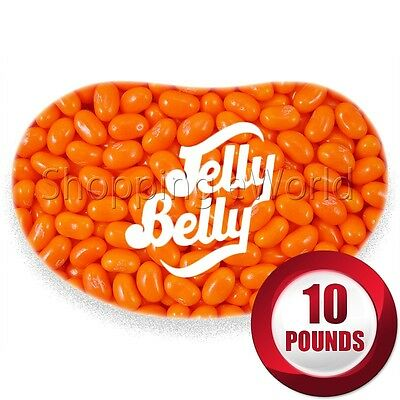 ORANGE SHERBET Jelly Belly Beans ~ 10 Pounds ~ Candy ~ Guaranteed Fresh
