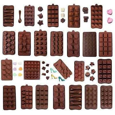 35 Designs Silicone Cake Decorating Moulds Candy Cookies Chocolate Baking Mold